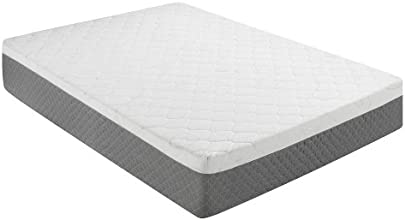 Sleep Innovations 12-Inch Gel Memory Foam Mattress, Queen