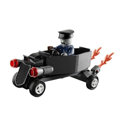 LEGO Monster Fighters: Zombie Chauffer Coffin Car Set 30200 (Bagged) - 1