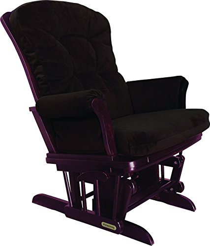 Shermag Recliner Glider Chair, Cherry Chocolate