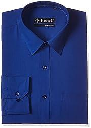 Hancock Men's Formal Shirt (9171blue_40)