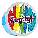 Zephyr 00-00000912 Kinetic Play Dough in containers Kinetic plasticise Modelling Clay Polymer Clay Could be Baked, Blue (Color: Blue)