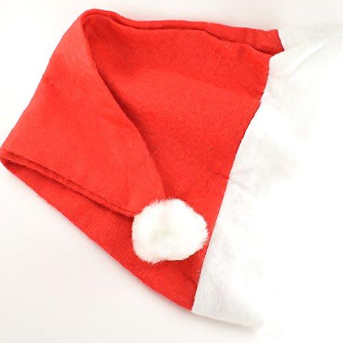 100-x-festive-christmas-xmas-felt-santa-hats-bulk-buy