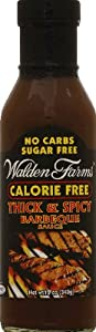 Walden Farms Thick'n Spicy Barbeque Sauce 12oz( 2-pack) by Walden Farms
