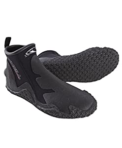 O'Neill Wetsuits Men's Tropical Dive 3mm Boot  (Black, 6)