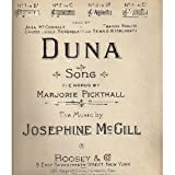 Duna (No. 4 in E flat, Sung by John McCormack, Francis Rogers, Cantor Josef Rosenblatt and Reinald Werrenrath)