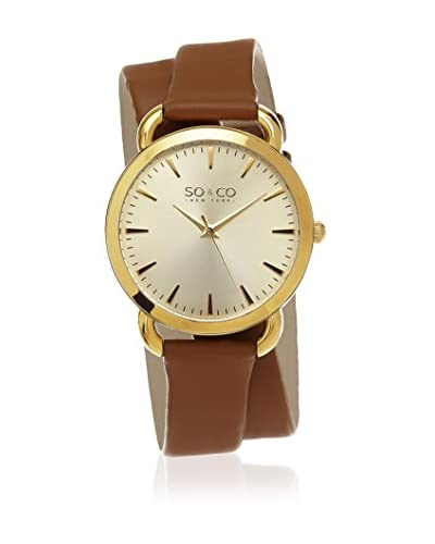 SO & CO New York Reloj de cuarzo Gp15565 Marrón 36  mm