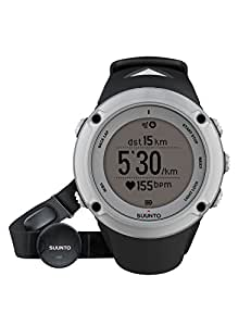 Suunto Sport Watch AMBIT2 HR, Silver, SS019651000