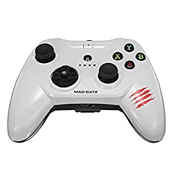 Mad Catz C.T.R.L.i Mobile Gamepad Made for Apple iPod, iPhone, and iPad - White