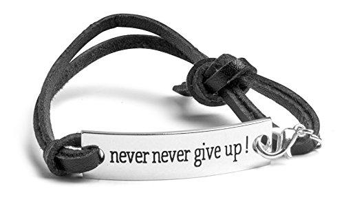 never-never-give-up-Inspirational-Charm-Bracelet