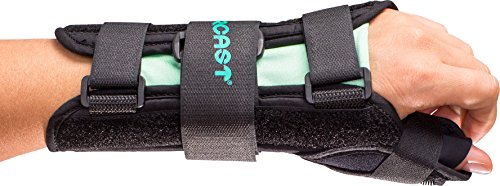 Aircast A2 Wrist Support Brace with Thumb Spica: Left Hand, Medium (Thumb Cast compare prices)
