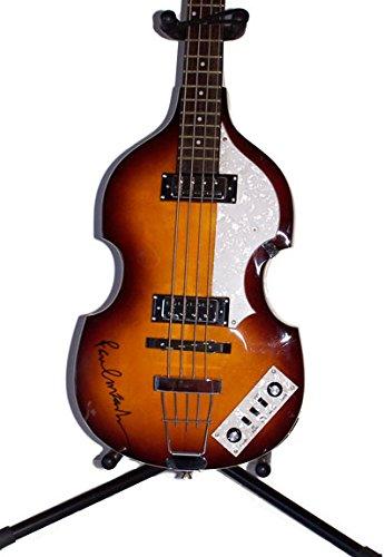 Paul McCartney Authentic Signed Autographed Hofner Guitar COA