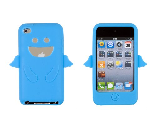 Light Blue Angel Case for Apple iPod Touch 4G