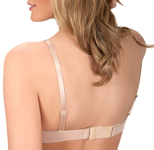 Fashion Forms 4 Hook Soft Back Bra Extenders 6-Pack Accessory (4-hook Assorted)
