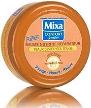 Mixa Corps Intensif Crème de Soin Anti Dessèchement au Karité en Pot 200 ml - Lot de 2