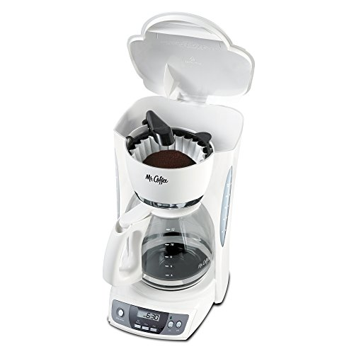 Mr Coffee CGX20 NP 12 Cup Programmable Coffeemaker White New 072179228240 eBay