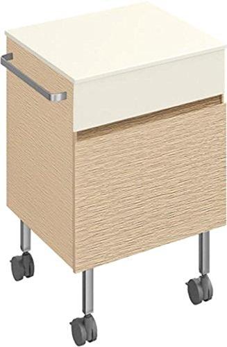 Villeroy-Boch-Rollcontainer-Memento-C26800-450x585x415-Wei-Matt-Lack-C26800MT