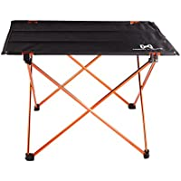 Moon Lence Ultralight Folding Camping Picnic Roll Up Table