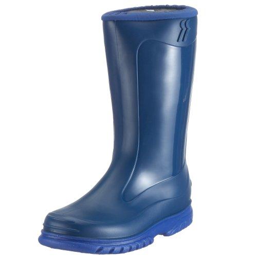 RomikaJupiter - Stivaletti in gomma a gamba media, imbottitura pesante Unisex - Bambini , Blu (Blau (blau-pacific 561)), 21