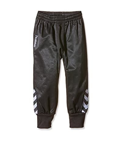 Hummel Pantalón de Chándal Bee Authentic Negro