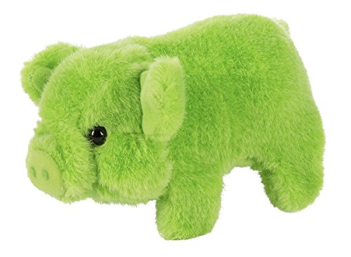 Westminster Toys Mr. Bacon Bits Walking Pig with Sound - Green