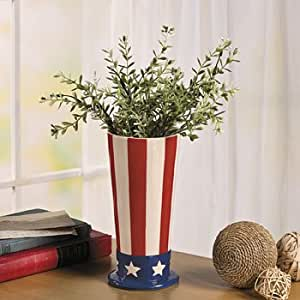 Patriotic Vase - Decorative Accessories