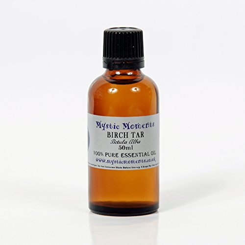 Mystic Moments Birch Tar Essential Oil 100% Pure 50ml