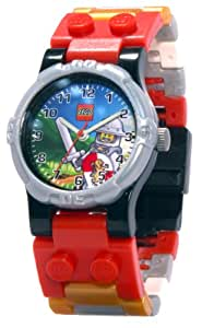 LEGO Kids' 9003400 Kingdoms Plastic Watch with Link Bracelet and Figurine