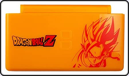 Nintendo DS Lite Complete Full Housing Shell Case Replacement Repair w/ Hinge Set - Dragonball Z