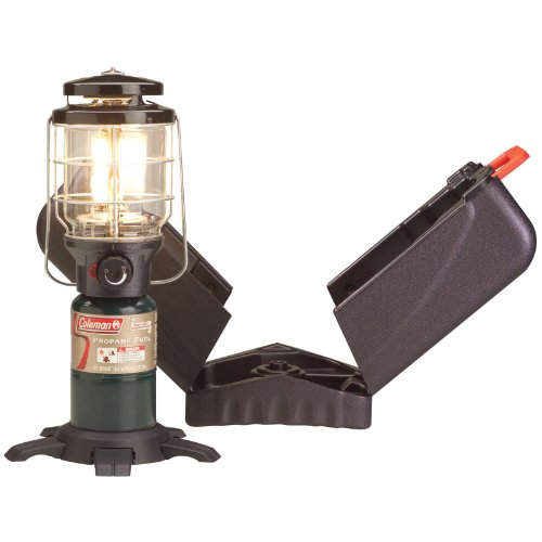 Coleman Northstar PerfectFlow Instastart Propane Lantern with Hard Carry Case,Coleman Green (Propane Case compare prices)