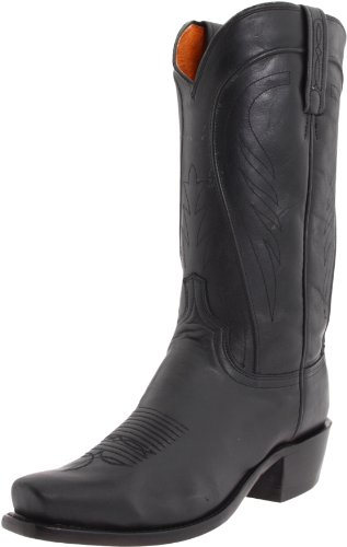 Lucchese Classics Men's N1597 7/4 Boot,Black Ranch,9.5 D (M) US