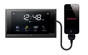 Pioneer SPH-DA01 AppRadio 6.1-Inch In-Dash Double-Din AV Receiver for iPod and iPhone
