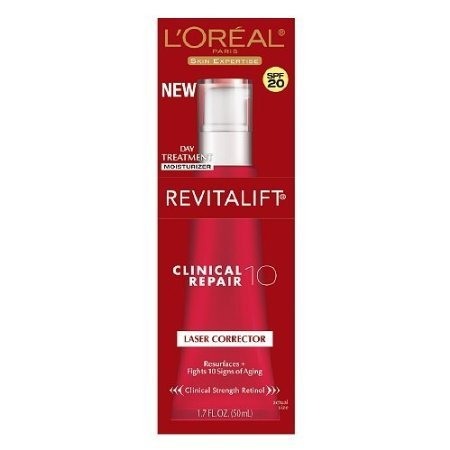 L'Oreal Revitalift Clinical Repair 10 Laser Corrector Spf 20 1.7 Fl Oz (50 Ml) front-468726