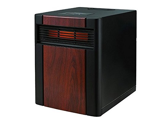 Holmes Extra Large Whole Room Wood Panel Infrared Indoor Heater with Wheels and Remote Control (Holmes Electric Space Heaters compare prices)