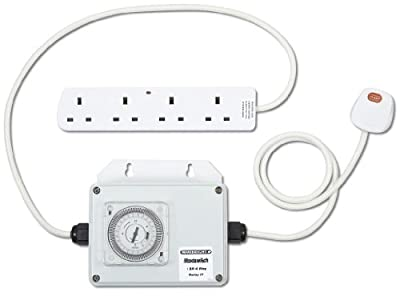 Maxiswitch 13amp 3kw Relay Built-in Timer Grow Light Controller