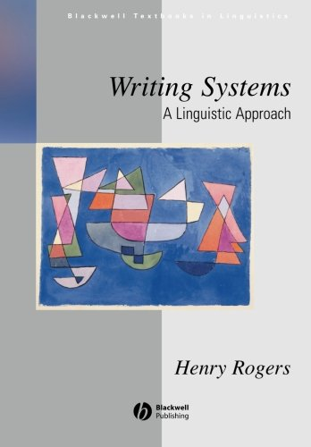 Writing Systems: A Linguistic Approach front-982723