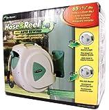 RL FloMaster 65' Retractable Hose Reel with 8 Spray Pattern Nozzle