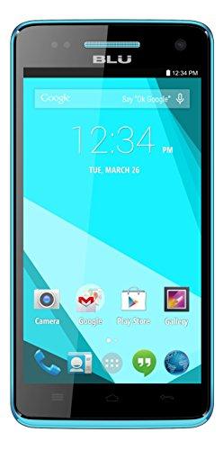 BLU Studio 5.0 C HD Quad Core - Unlocked Cell Phone - (Blue)