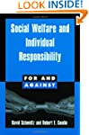 Social Welfare and Individual Respons...