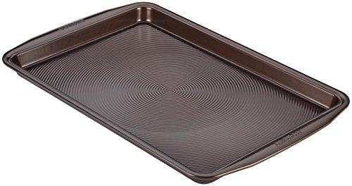 "Circulon Symmetry Nonstick Bakeware Cookie Pan, 11 x 17"", Chocolate"