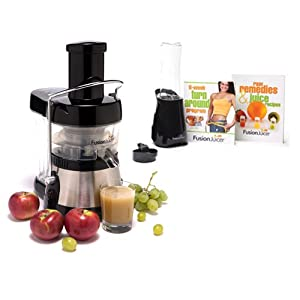 Amazon.com: Fusion Juicer Classic Stainless Steel Blade Juicer ...