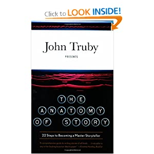 Click here to learn more about THE ANATOMY OF STORY by John Truby