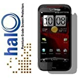 Halo Screen Protector Film Invisible (Clear) for Verizon HTC Rezound(Vigor) (3-Pack) - Premium Japanese Screen Protectors