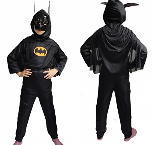 Fandecie Kid's Anime Halloween Cosplay Costume Superman Tights Zorro Suit Gifts