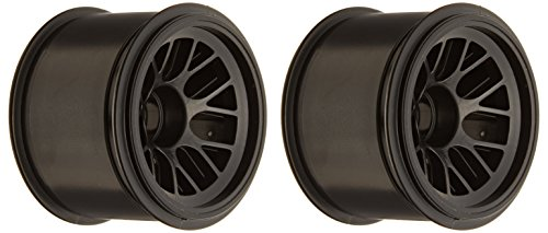 Ride F1 104 Front Wheel Black for Rubber Tire, 63mm - 1