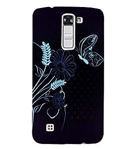 Fuson Premium Beautiful Nature Printed Hard Plastic Back Case Cover for LG K7