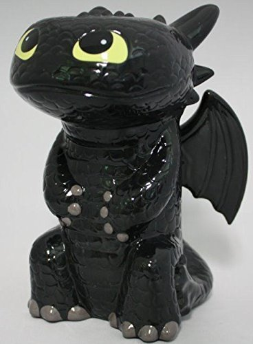 New Toothless How To Train Your Dragon Ceramic Bank