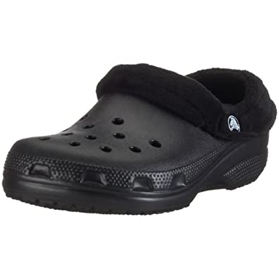 Crocs Unisex Mammoth Clog,Black/Black,Men's 4 M/Women's 6 M