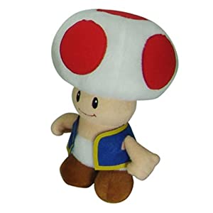 Super Mario - Toad Plush by Mario