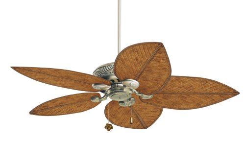 Tommy Bahama TB344AP Bahama Breezes Indoor/Outdoor Ceiling Fan, 52-Inch Blade Span, Antique Pewter Finish, Blades Sold Separately