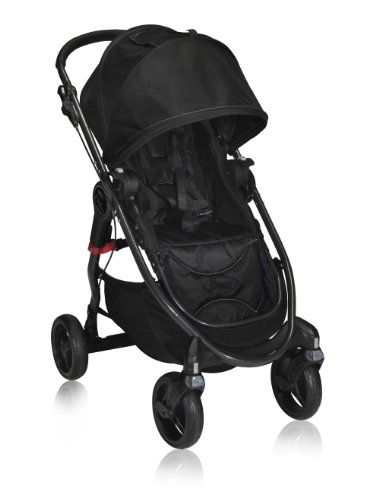 Baby Jogger City Versa Stroller, Black front-9626